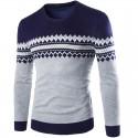 Camiseta Pulôver de Inverno Masculina de Natal Sueter Casual Frio