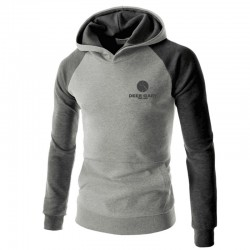 Male Hooded Winter Urban Long Sleeve Hooded Calitta