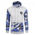 Hooded Army Casual Male Stamped Military Camouflage