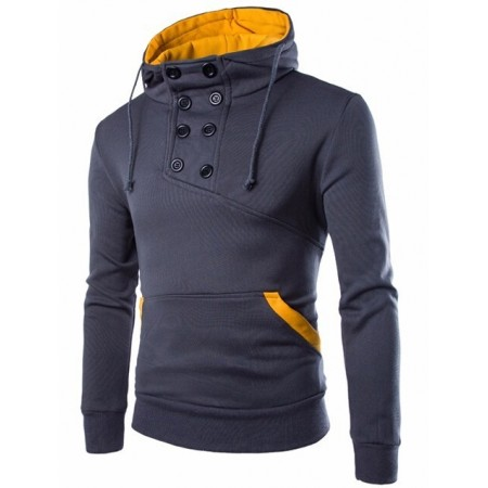 Hooded Casual Male Gola Winter Olympic jackets Long Sleeve