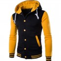 Jaquete Sport College Male Hooded Winter Casual