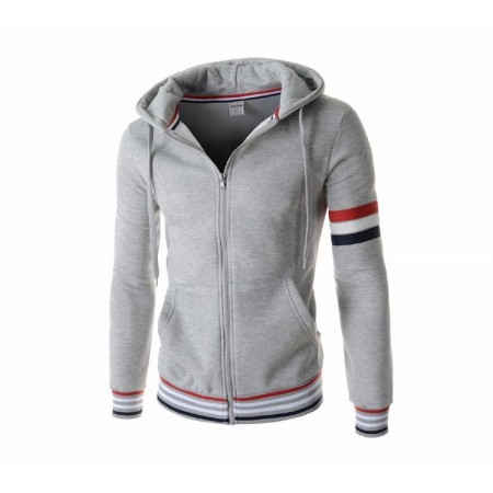 Jacket Capital College Winter Sports Hooded Male