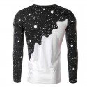 Shirt Men's Long Sleeve Tematica Stamped Fashion