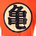 Camiseta T Dragon Ball Tematica Anime Masculino Laranja Casual Mestre