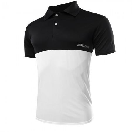Camiseta Polo Esporte Casual Masculina Elegante Slim Fit Fina Moderna