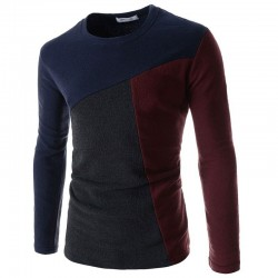 Shirt English Winter Wool Male Long Sleeve Cold