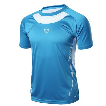 Shirt Slim Fit Workout Fitness Men's Sports Academy