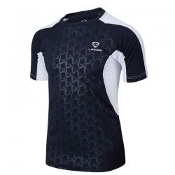 Camiseta de Futebol Fitness Treino Corrida e Academia Masculina Preta
