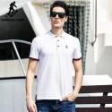 Camiseta Pólo Branca Social Esporte Fino Masculina Elegante Casual
