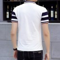 Polo Striped Thin Sport Casual Male English Gola