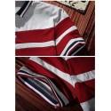 Polo Striped Thin Sport Casual Male English Gola