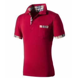 Camiseta Pólo Slim Fit Esporte Fino Masculino Casual Lisa de Verão