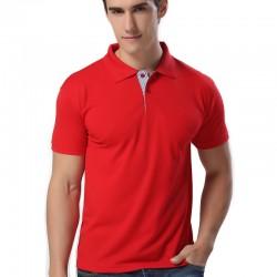 Camiseta Pólo Lisa Básica Casual Masculina Esporte Fino Slim Fit
