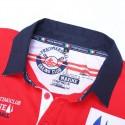 Camisa Pólo Esporte Masculina Social de Verão Elegante Casual Brasão