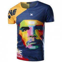 Shirts Che Guevara Cuba Tematica Colored Modern Art Men