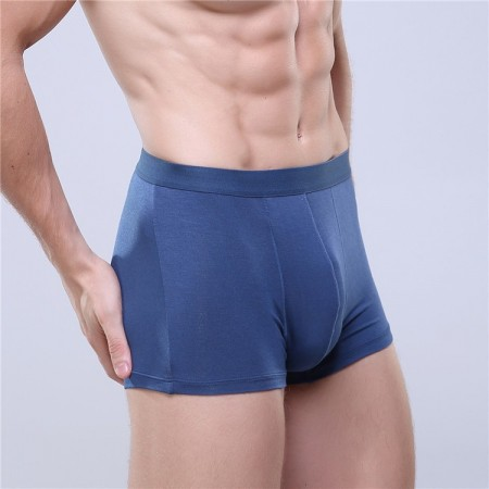 Boxershorts Navy blue Men Lisa Basic Beach Fashion Intima