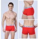 Cueca Boxer Vermelha Masculina Lisa Básica Calvin Bordada Diversas Cores Sol