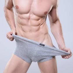 Cuecas Boxer Cinza Limpa Básica Masculina Sex Verão Praia Confortável