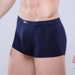 Boxer Briefs Navy Blue Clean Basic Men Sex Summer Beach Comfortable