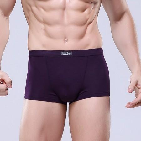 Cuecas Boxer Roxa Limpa Básica Masculina Sex Verão Praia Confortável