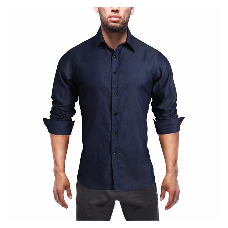 Camisas De Las Mujeres Jean Camisas Abotonadas - Compra