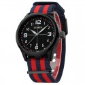Watch Red White Men's Fabric Casual Young Sports Fashion Color Bracelet