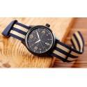 Relógio Marrom Branco Masculina Tecido Casual Jovem Esportivo da Moda Pulseira Colorida