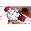 Watch Yellow Men's Fabric Casual Young Sports Fashion Color Bracelet