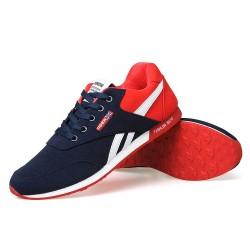 Tênis Vermelho Esporte Calçado Masculino Casual Academia Moda Fitness Treino