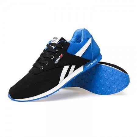 Tênis Azul Esporte Calçado Masculino Casual Academia Moda Fitness Treino