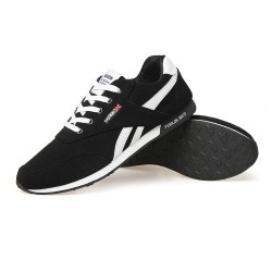 Sneakers Black Sport Shoes Men's Casual Fashion Academy Fitness Training