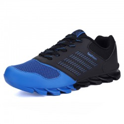 Blue Sneakers Sports Springblade Male Race Cute Training Shoes