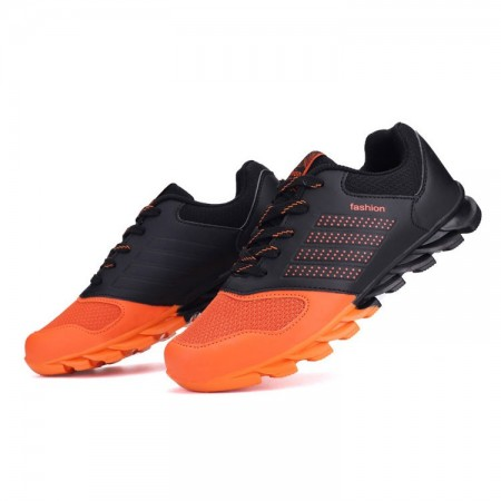 Tênis Esportivo Springblade Laranja Masculino Corrida Calçado Bonito de Treino