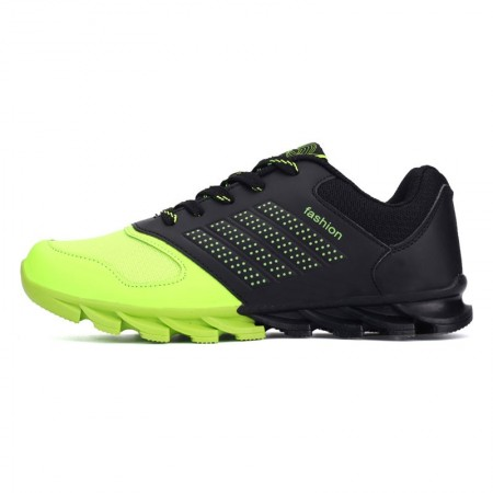 Green Sneakers Sports Springblade Male Race Cute Training Shoes