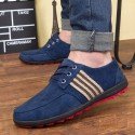 Flat shoes Blue Casual Male Social Sport Rasteiro Sneaker