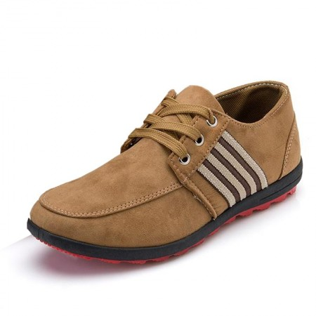 Flat shoes Brown Casual Male Social Sport Rasteiro Sneaker