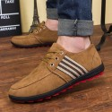 Flat shoes Brown Casual Male Social Sport Rasteiro Sneaker