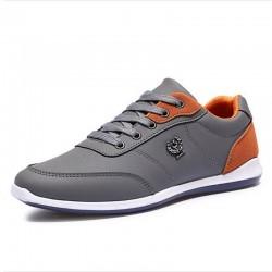 Gray Shoes Male' Modern Beautiful Elegant Social Sport