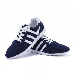 Sneakers Blue Men's Casual Young Modern Elegant Party Shoes Club