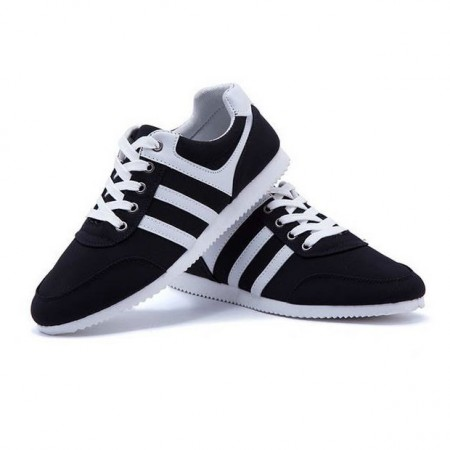 Sneakers Black Men's Casual Young Modern Elegant Party Shoes Club