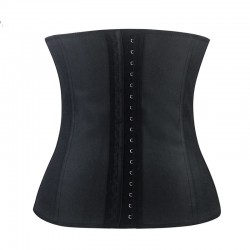Espartilho Fina Cinta Modeladora Treino Fitness Fashion Cintura Definida