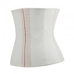 Espartilho Branco Cinta Modeladora Treino Fitness Fashion Cintura Definida
