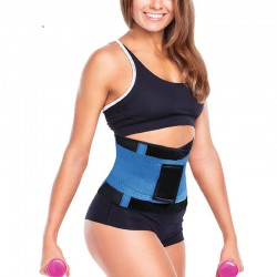 Shapewear Blue Sport Training Waist Weight Loss Tuner