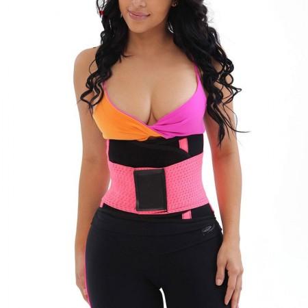 Shapers Rosa Cinta Modeladora Sport Treino Emegrecedor Afinador de Cintura