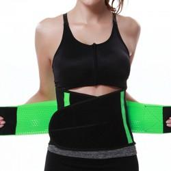 Shapers Verde Cinta Modeladora Sport Treino Emegrecedor Afinador de Cintura