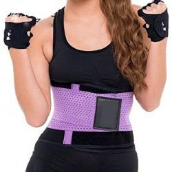 Shapers Lilas Cinta Modeladora Sport Treino Emegrecedor Afinador de Cintura