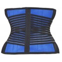 Shapewear Sport Blue Training Waist Weight Loss Tuner