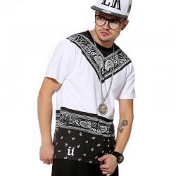 Camisas Egípcias Last Kings Branca Masculinas Balada Funk Urbana Música Hip Hop