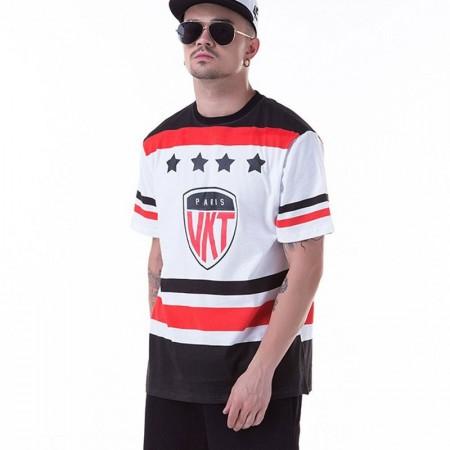 T-Shirt Medusa UNKUT White Men's Ballad Funk Sport Hip Hop