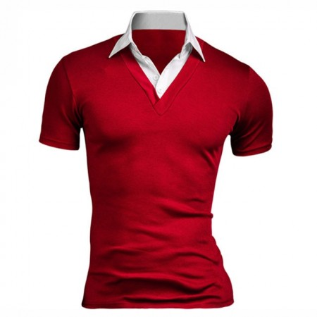 Shirt Polo Men's Casual Elegant